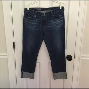 AG Adriano Goldschmied Stevie cuff jeans Sz 32